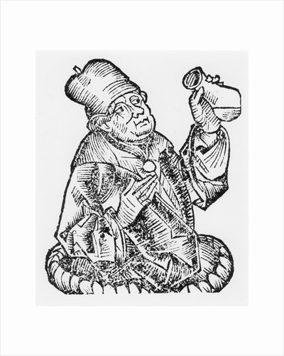 Isaac Judaeus, physician to the rulers of Tunisia, 9th-10th century (1493) by Unknown