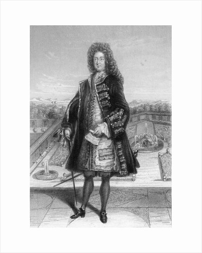 John Law, Comptroller General of France, 1720 (1841) by Unknown