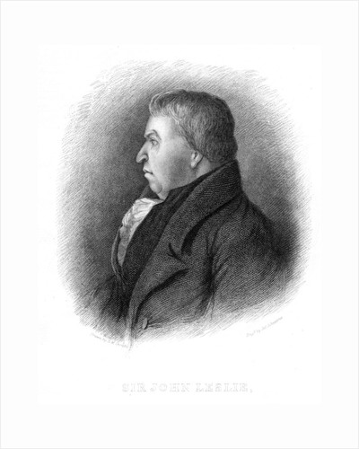 John Leslie, Scottish natural philosopher and physicist, 19th century by Unknown
