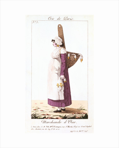 The Goose Seller, 1826 by Unknown