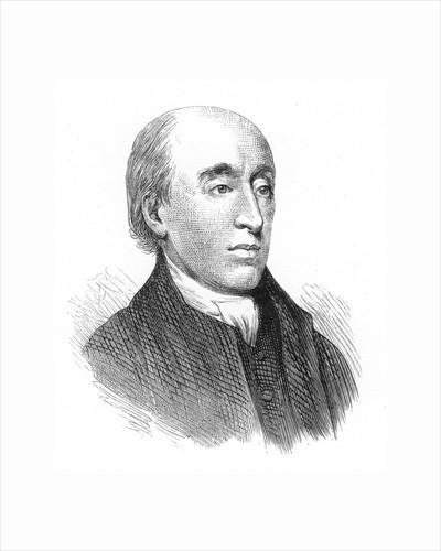 James Hutton, Scottish geologist, 18th century, (1875) by Unknown