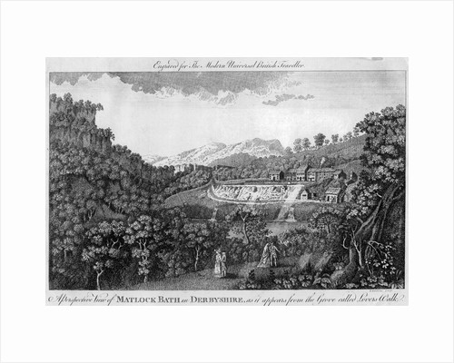 Matlock Spa, Derbyshire, late 18th century by Anonymous