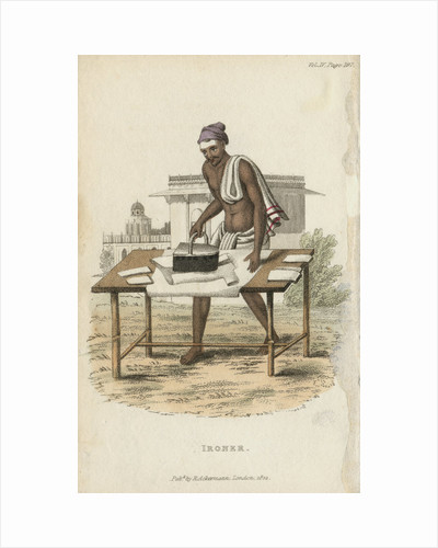Ironer, 1822 by Anonymous