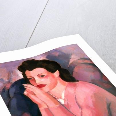 Portrait en rose by John Duncan Fergusson