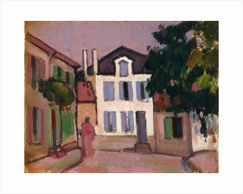 A Back Street in Royan by John Duncan Fergusson