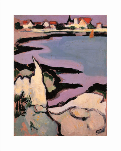 Rocks and a Bay by John Duncan Fergusson
