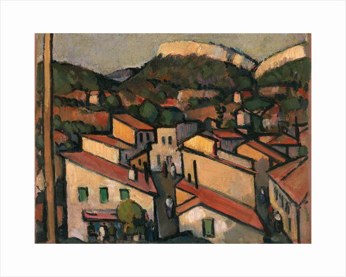 Cassis from the West by John Duncan Fergusson