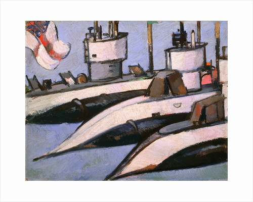 Three Submarines by John Duncan Fergusson
