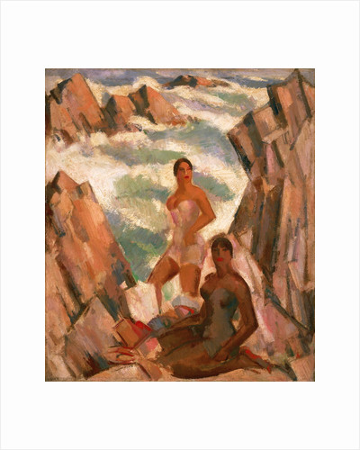 Bathers: The Breeze by John Duncan Fergusson