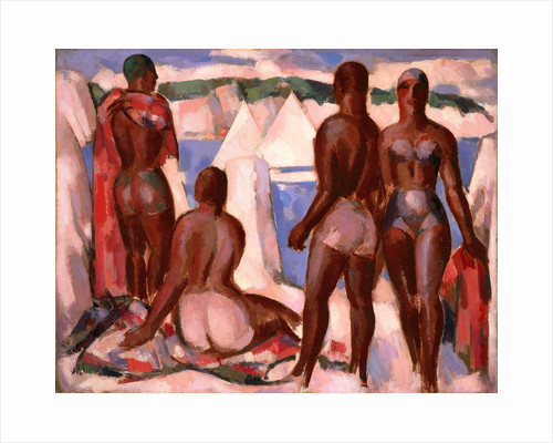 Bathers, Evening by John Duncan Fergusson