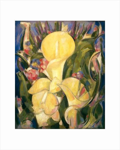 Lillies by John Duncan Fergusson