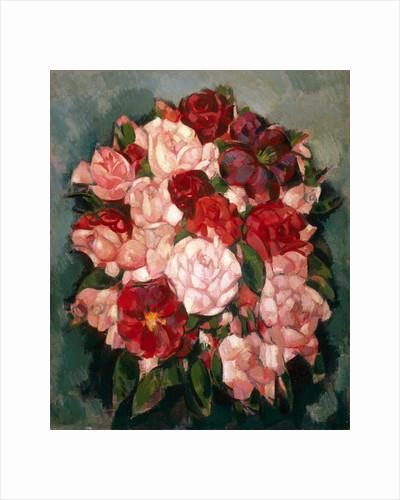 Roses: Pink Roses by John Duncan Fergusson