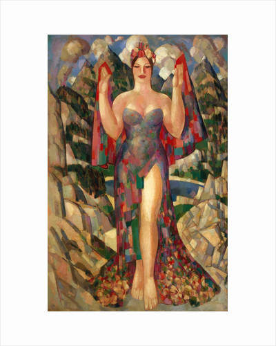 Danu, Mother of the Gods by John Duncan Fergusson