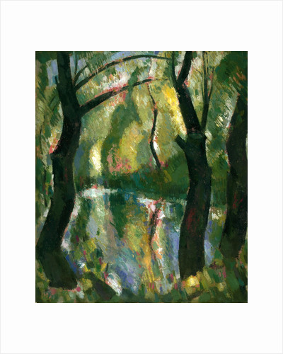 Dark Trees by the Kelvin by John Duncan Fergusson