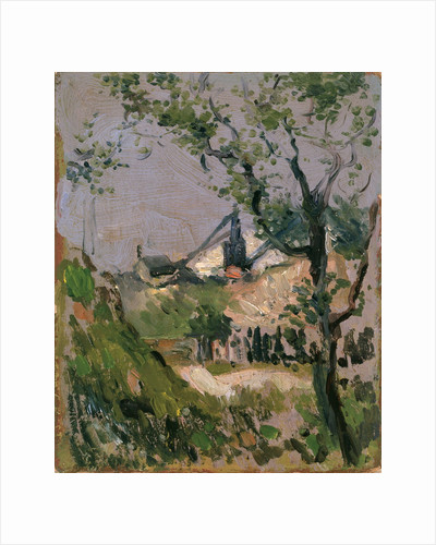 Craigleith Quarry by John Duncan Fergusson