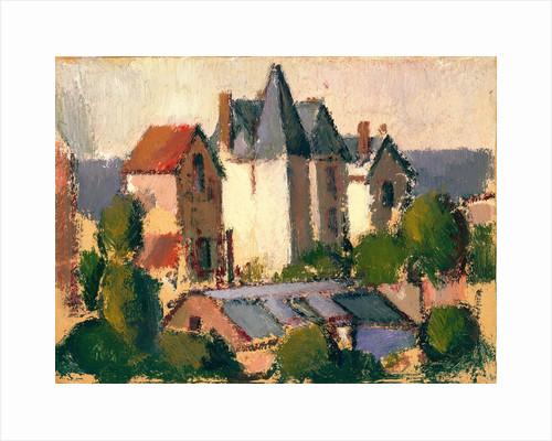 Château by John Duncan Fergusson