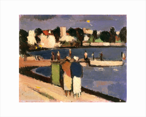 A Harbour in the South by John Duncan Fergusson
