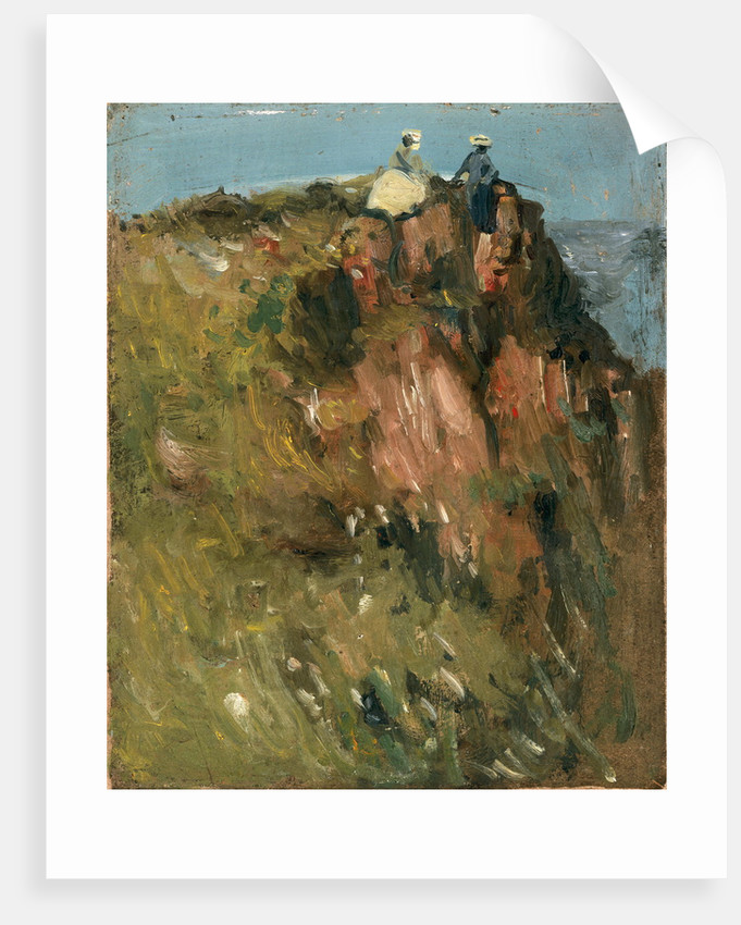 Figures on Cliff Top by John Duncan Fergusson
