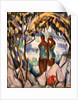 Bathers in Green by John Duncan Fergusson