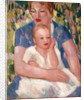 Mother and Child: Sheila by John Duncan Fergusson