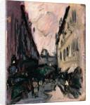 Street Scene by John Duncan Fergusson