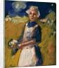 Girl in Field by John Duncan Fergusson