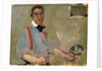 Red Braces: Self Portrait by John Duncan Fergusson