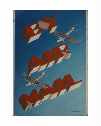 By Air Mail by Ron Watson