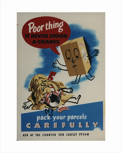 Pack your parcels carefully by unknown