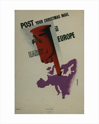 Post your Christmas mail for Europe early by M H Armengol