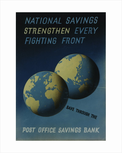 'National Savings Strengthen Every Fighting Front' by unknown