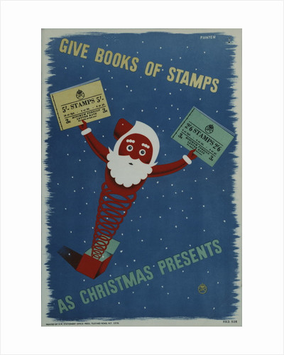 Give books of stamps as Christmas presents by P Vinten