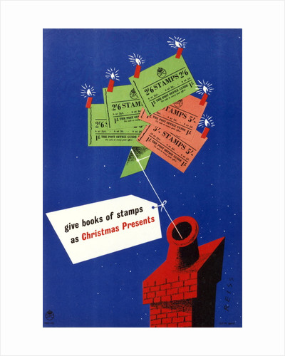 Give books of stamps as Christmas presents by Manfred Reiss