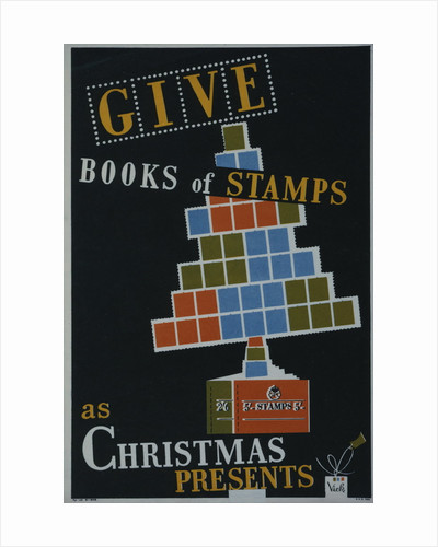 Give books of stamps as Christmas presents by Vick