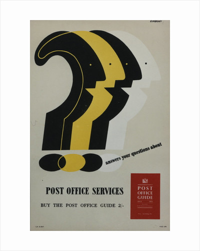 'Post Office Guide' answers your questions about Post Office services by Tom Eckersley