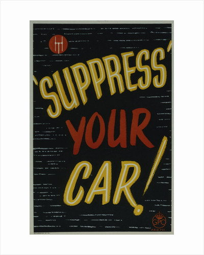 'Suppress' your car! by Anonymous