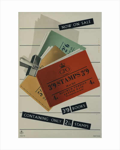 Now on sale 3'9 books containing only 2.5d stamps by Leonard Beaumont