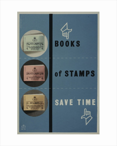 Books of stamps save time by Leonard Beaumont