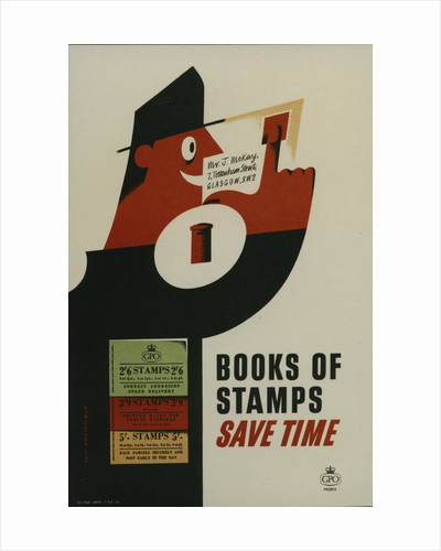 Books of stamps save time by Kenneth Bromfield