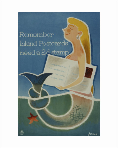 Remember inland postcards need a 2d stamp by Barbara Jones
