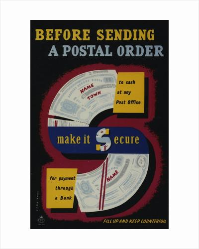 Before sending a postal order make it secure by Stan Krol