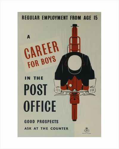 A career for boys in the Post Office by unknown