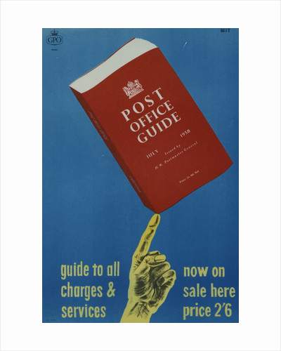 'Post Office Guide, July 1958'. Guide to all charges and services by MIT'