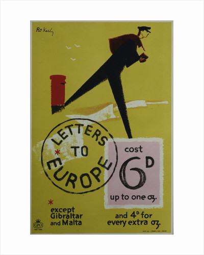 Letters to Europe cost 6d by Pat Keely