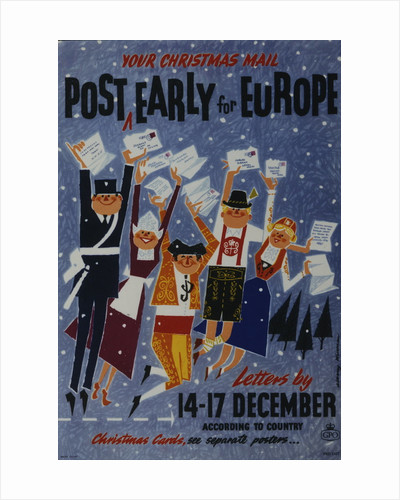 Post early for Europe by Albany Wiseman