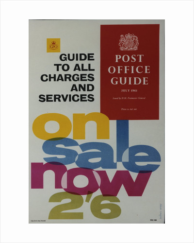 'Post Office Guide' to all charges and services by Alick Knight