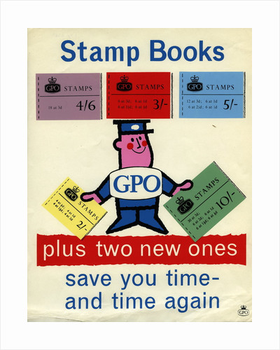 Stamp books save you time and time again by Harry Stevens