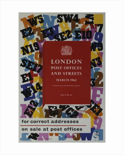 'London Post Offices and streets' for correct addresses by EPH Cowan