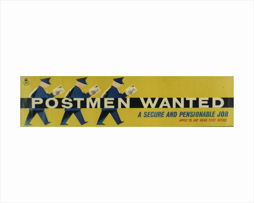 Postmen wanted - a secure and pensionable job by Stan Krol