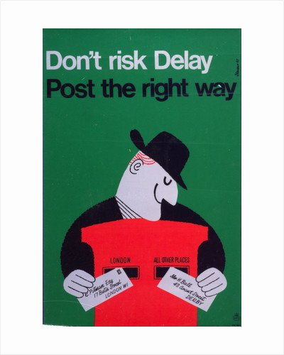 Don't risk delay - post the right way by Harry Stevens
